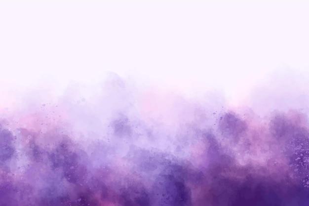 Fundo roxo abstrato em aquarela