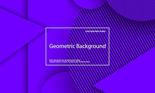 Fundo roxo. desenho geométrico abstrato.