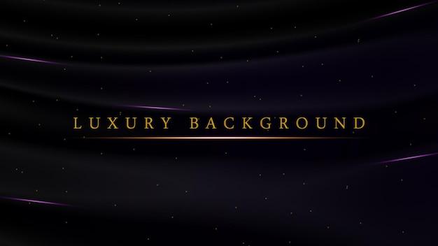 Fundo roxo escuro luxuoso para cerimônia de premiação