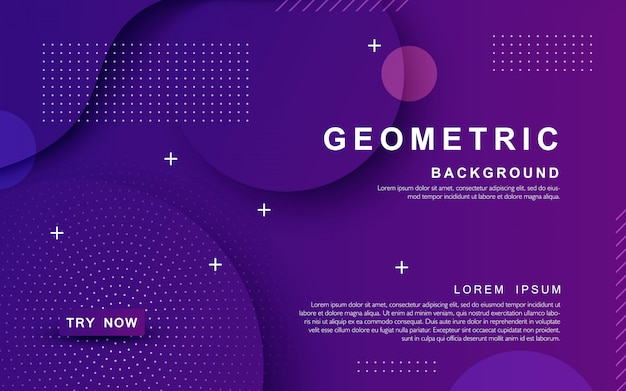 Fundo roxo geométrico texturizado dinâmico