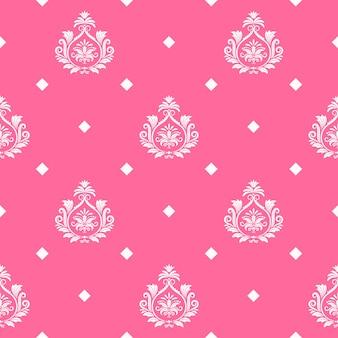 Fundo sem emenda da princesa do vetor. ilustração de moda real ornamental infinita e abstrata