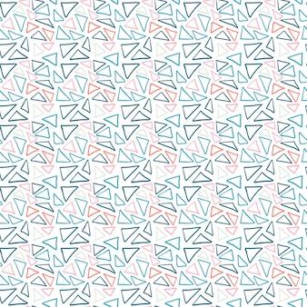Fundo sem emenda de vector de triângulos