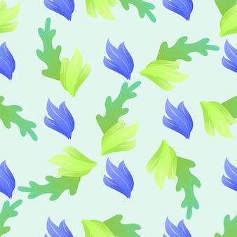 Fundo sem emenda floral abstrato do teste padrão.