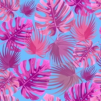 Fundo tropical.