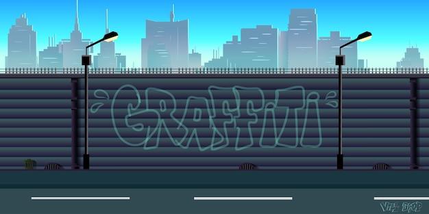 Fundo urbano da cidade
