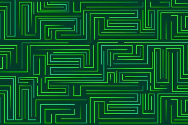 Fundo verde abstrato geométrico