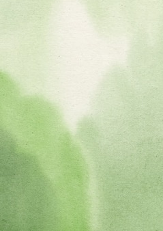 Fundo verde aquarela e fundo abstrato de textura