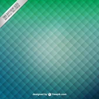 Fundo verde com padrão de quadrados