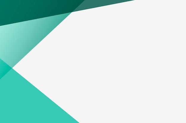 Fundo verde em branco simples para negócios