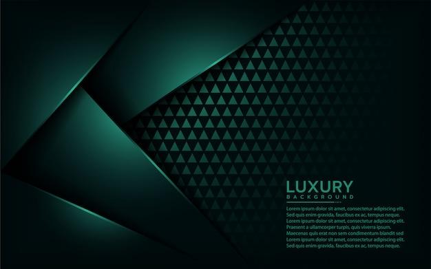 Fundo verde emerarld de luxo