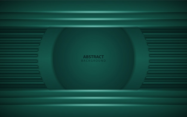 Fundo verde escuro abstrato