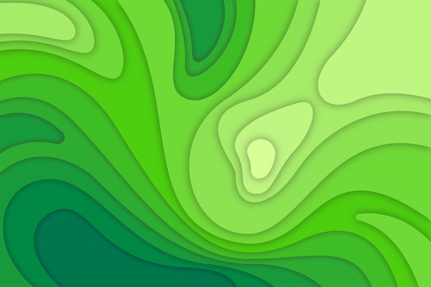 Fundo verde mapa topográfico