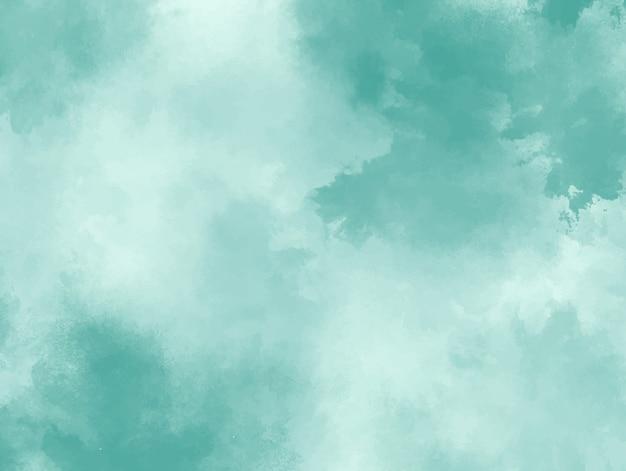 Fundo verde pastel aquarela. textura grunge pintura de arte digital