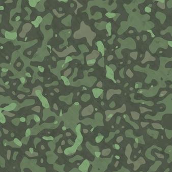 Fundo verde pintado mão abstrata