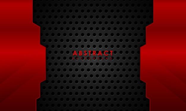 Fundo vermelho abstrato com arranhões criativos e texturizados
