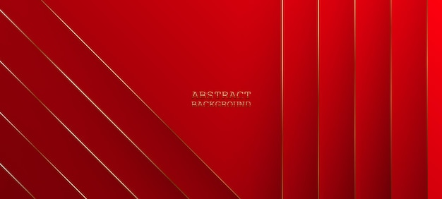 Fundo vermelho abstrato. ilustração vetorial