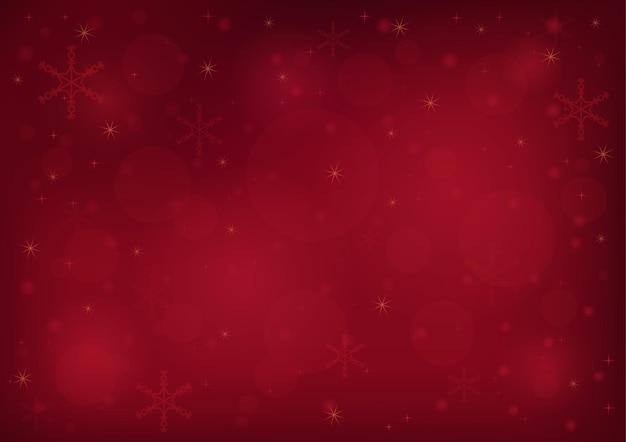 Fundo vermelho bokeh de natal
