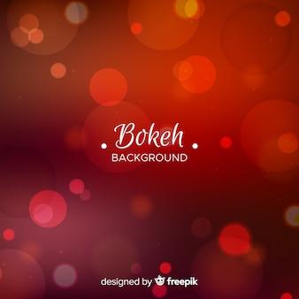 Fundo vermelho bokeh