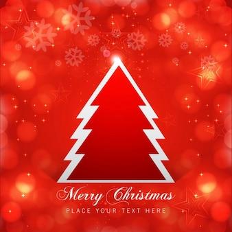 Fundo vermelho brilhante do natal