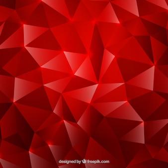 Fundo vermelho com efeito de diamante