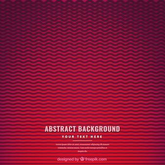Fundo vermelho com linhas onduladas