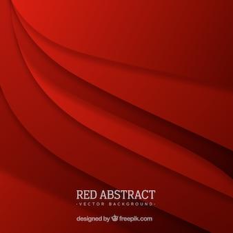Fundo vermelho em estilo abstrato