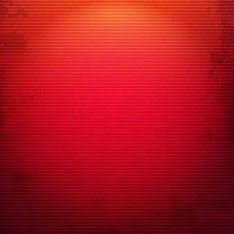Fundo vermelho grunge com ilustração de malha de gradiente