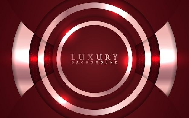Fundo vermelho luxuoso
