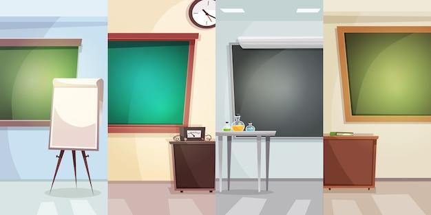 Fundo vertical de educação