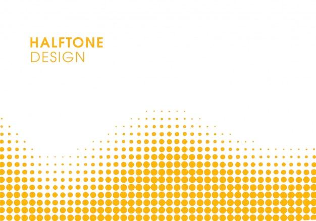 Fundo vibrante abstrato amarelo