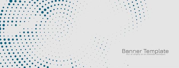 Fundo vintage de design de meio-tom abstrato azul Vetor grátis