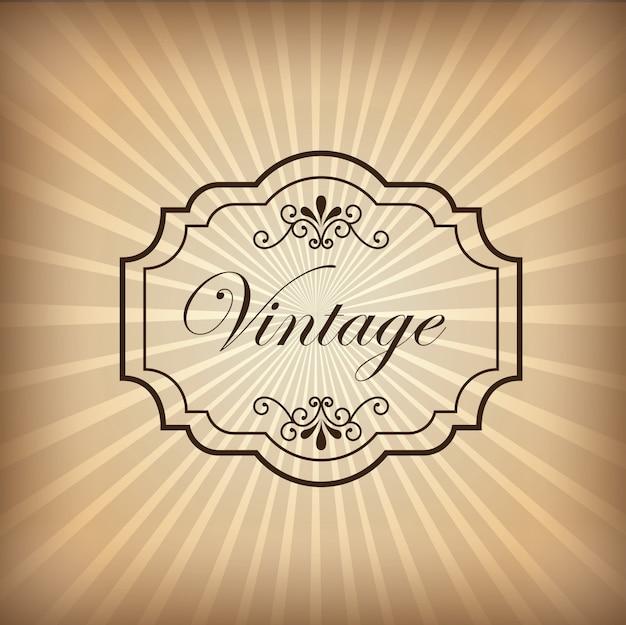 Fundo vintage