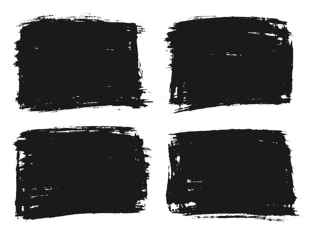Fundos abstratos de grunge preto