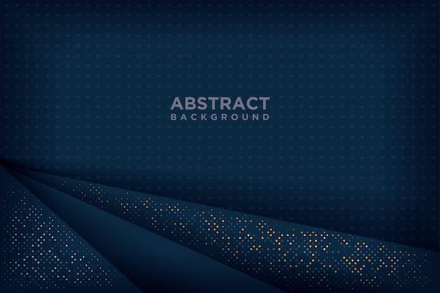 Fundos abstratos dos azuis marinhos 3d.
