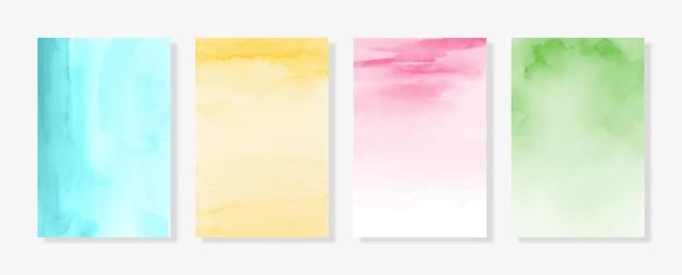Fundos de aquarela pastel texturas tons suaves fundos de papel digital
