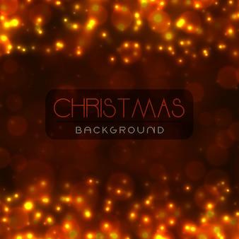 Fundos elegantes do feliz natal com efeito de iluminação