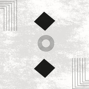 Fundos modernos abstratos de vetor formas geométricas formas curvas texturas