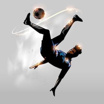 Futebol sobre a cabeça