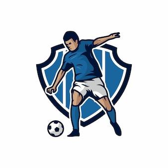 Futebol, vetorial, ícone, ilustração
