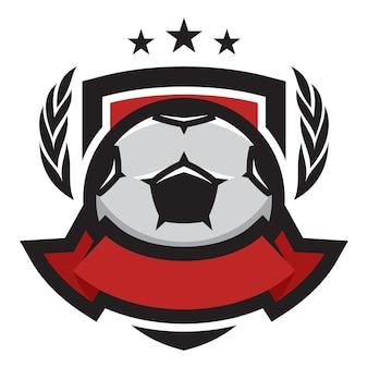 Futebol, vetorial, logotipo, ícone, ilustração