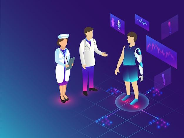 Futuro da biotecnologia médica.