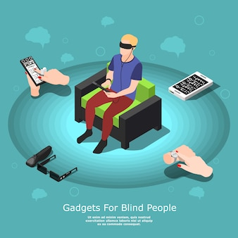 Gadgets para pessoas cegas