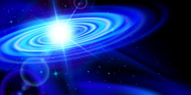 Galáxia azul