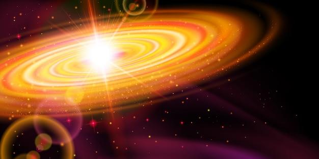 Galáxia laranja