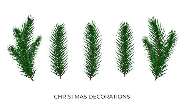 Galhos de árvores de natal