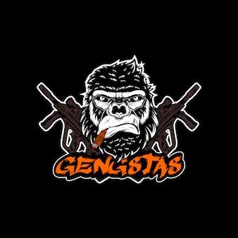 Gangster gorila