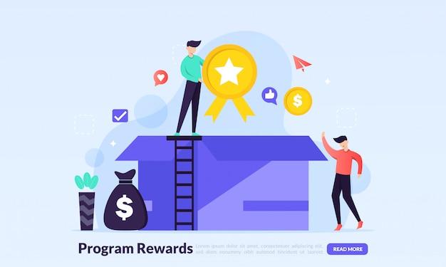 Ganhar pontos e receber recompensas