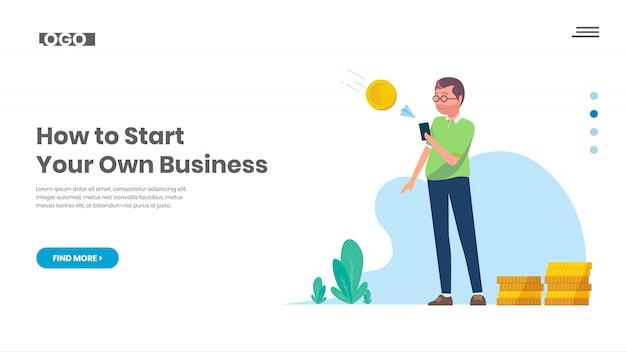 Ganhe dinheiro com negócios on-line
