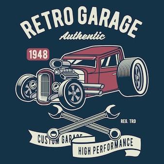 Garagem retro