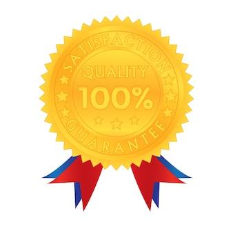 Garantia de 100% de qualidade de satisfação